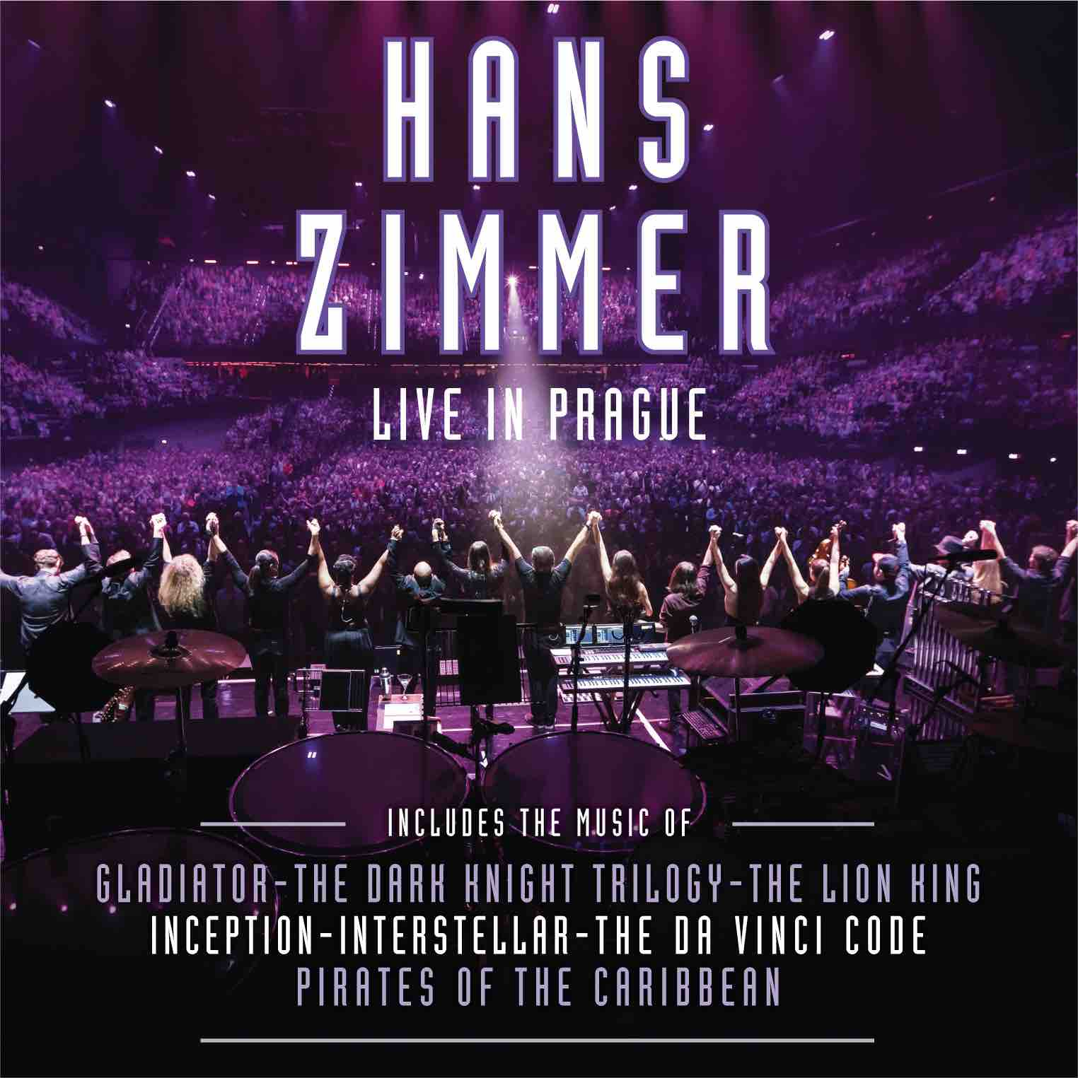 Hans Zimmer Live In Prague CD cover